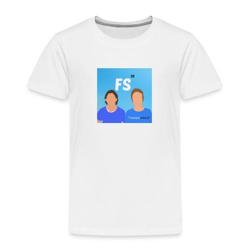 logo - Premium T-skjorte for barn