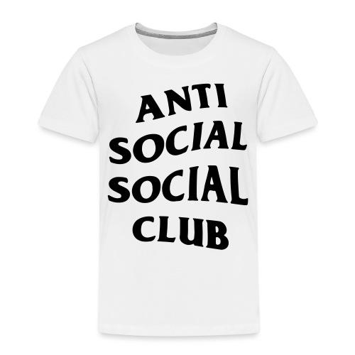 anti social social club - Kids' Premium T-Shirt
