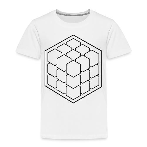 Cubik Monochrome - T-shirt Premium Enfant