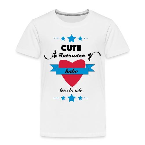 intruder_babe - Premium-T-shirt barn