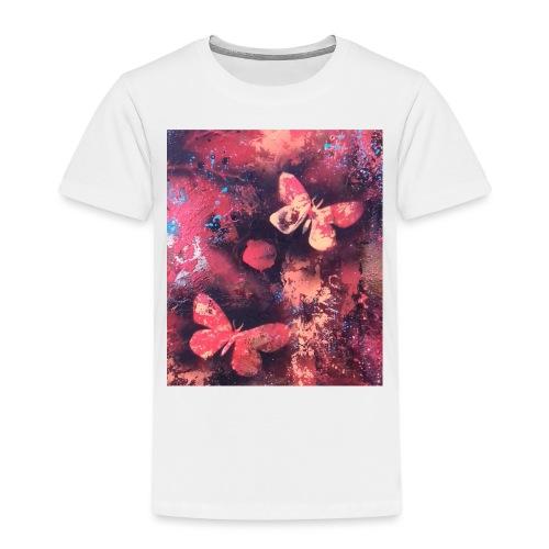 Papillons rouge - T-shirt Premium Enfant