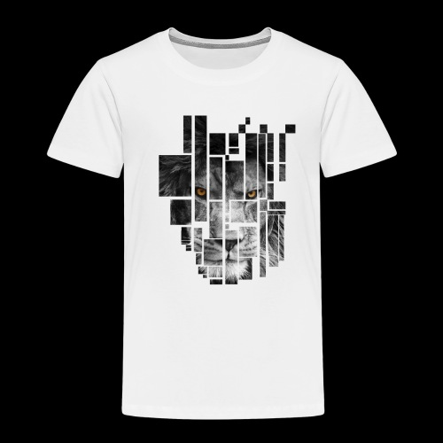 Pixel Lion Tattoo Inspire - Kids' Premium T-Shirt