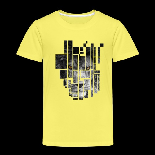 Pixel Lion Tattoo Inspire - Kids' Premium T-Shirt