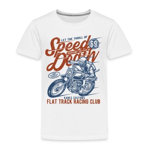 Flat Track Racing Club - Kids' Premium T-Shirt
