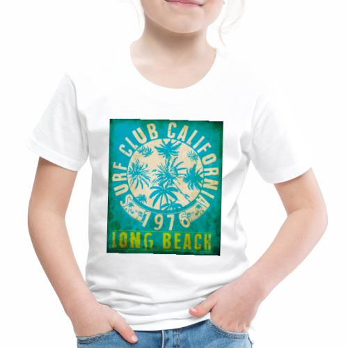 Long Beach Surf Club California 1976 Gift Idea - Kids' Premium T-Shirt