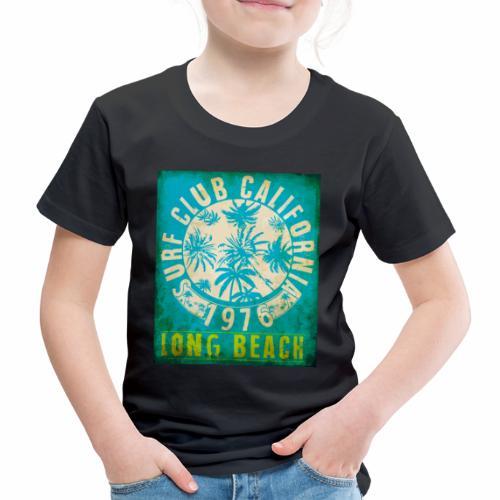 Long Beach Surf Club California 1976 Gift Idea - Kids' Premium T-Shirt