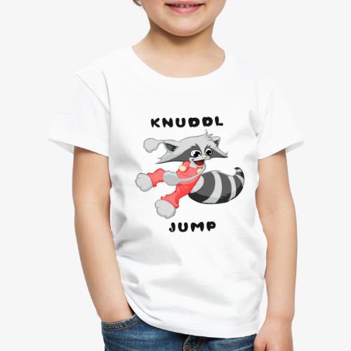 KNUDDL JUMP - Kinder Premium T-Shirt