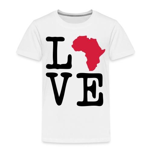 I Love Africa, I Heart Africa - Kids' Premium T-Shirt