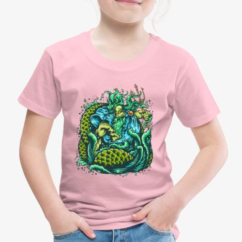 Gott des Meeres - Kinder Premium T-Shirt