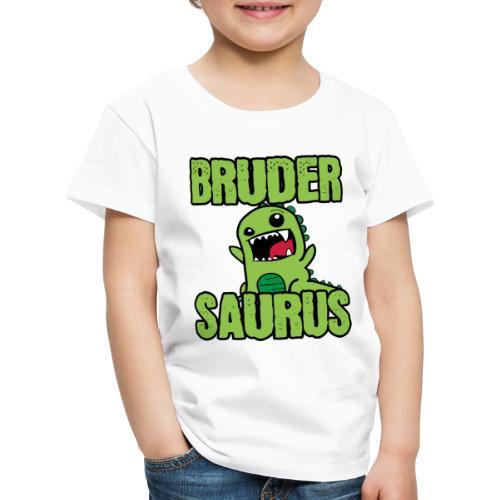 Brudersaurus Dinosaurier Kinder Baby Shirt - Kinder Premium T-Shirt
