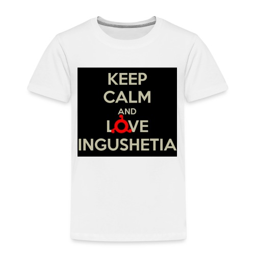 keep calm and love ingushetia - T-shirt Premium Enfant