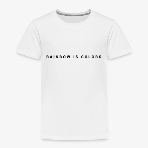 rainbow colors - T-shirt Premium Enfant