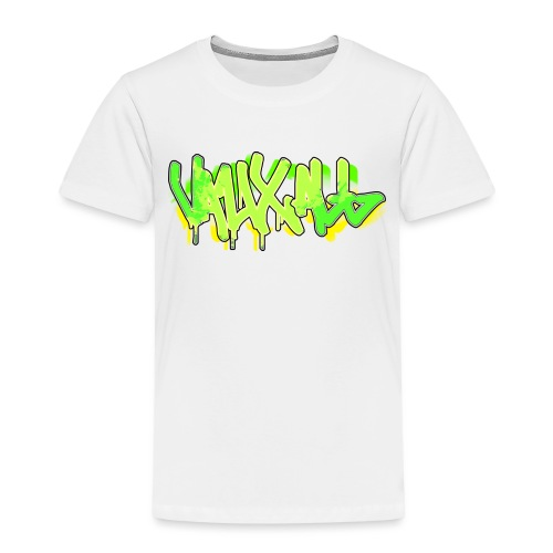 Graffiti | GREEN - Kids' Premium T-Shirt