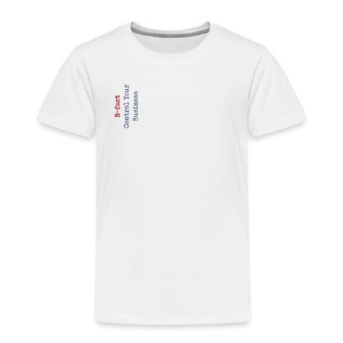 B fact Control Your Business - Kinderen Premium T-shirt