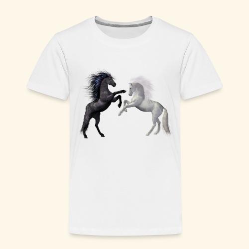 horses 1980045 - Kinder Premium T-Shirt