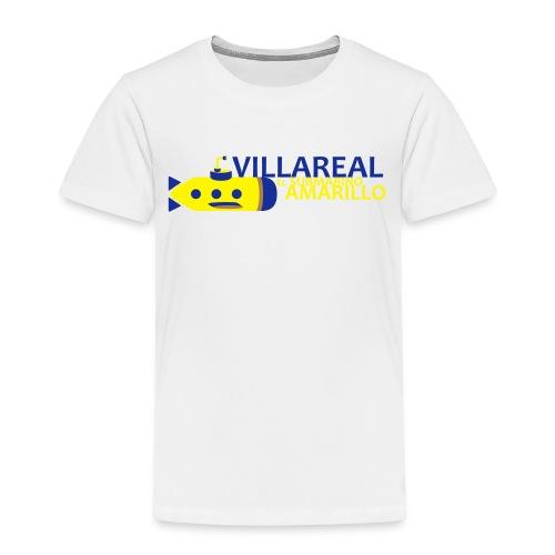Villareal - Camiseta premium niño