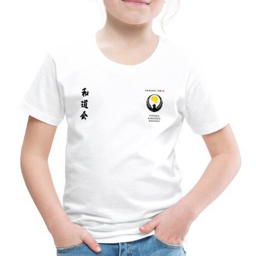 Kodomo black - Premium-T-shirt barn