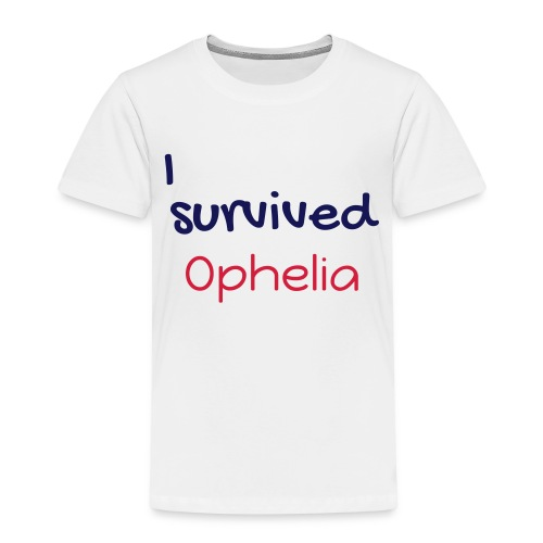 ISurvivedOphelia - Kids' Premium T-Shirt