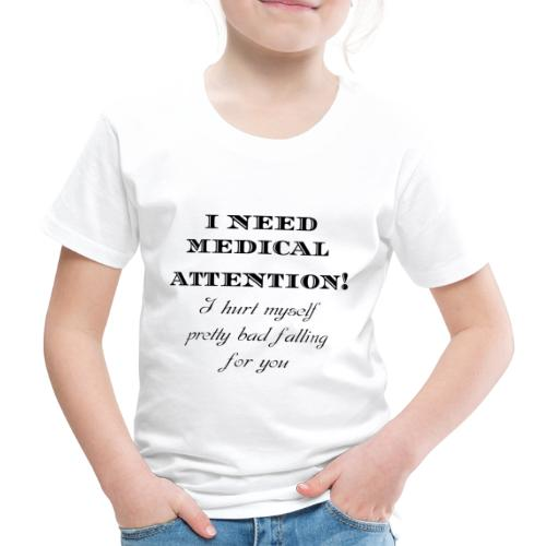 Attention - Lasten premium t-paita