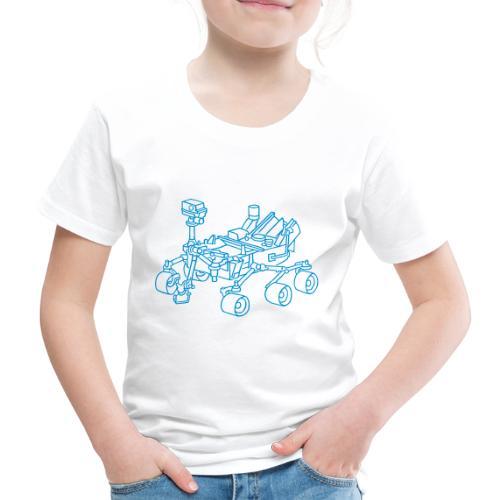 Curiosity, der Marsrover - Kinder Premium T-Shirt