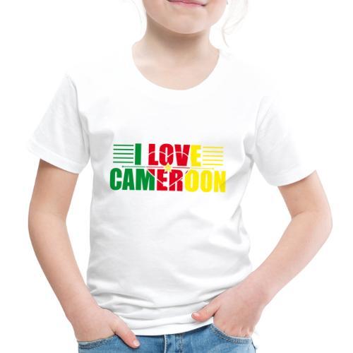 love cameroun - T-shirt Premium Enfant