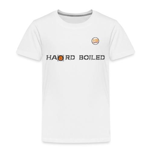 Schrift mit orangenem a - Kinder Premium T-Shirt