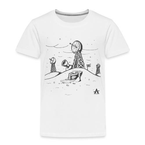 ligne de base arctique croquis - T-shirt Premium Enfant