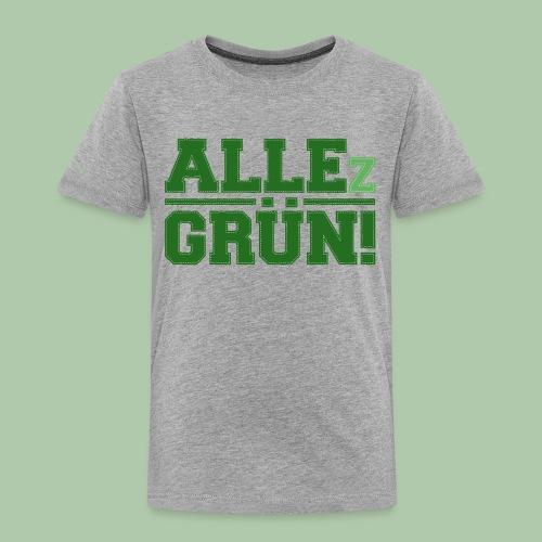 allezgruen_green_big - Kinder Premium T-Shirt