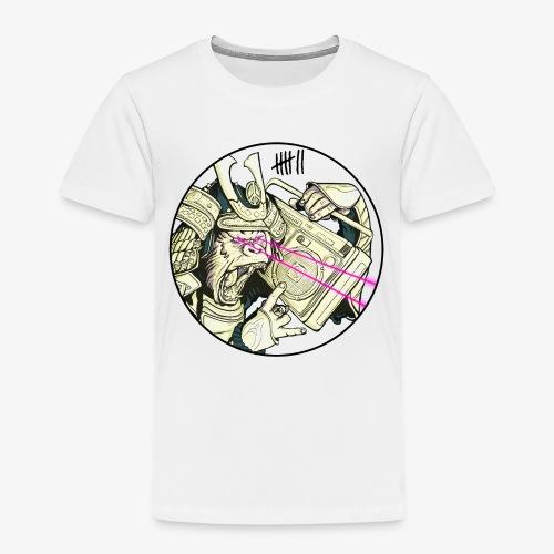 7 Apparel - Gorilla Samurai - Kinder Premium T-Shirt