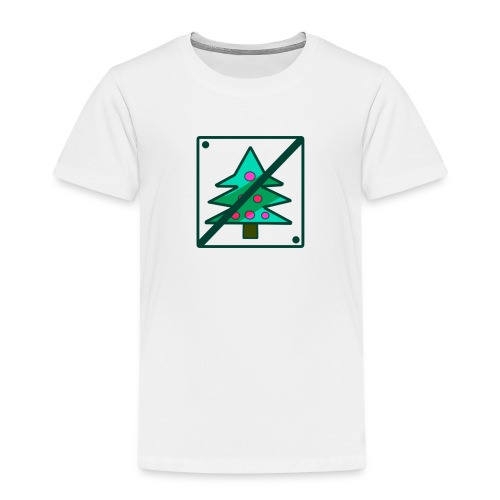 Anti Xmas T Shirt Baum - Kinder Premium T-Shirt