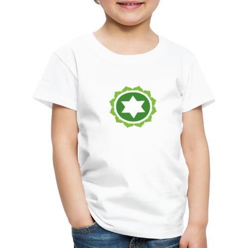 The Heart Chakra, Energy Center Of The Body - Kids' Premium T-Shirt