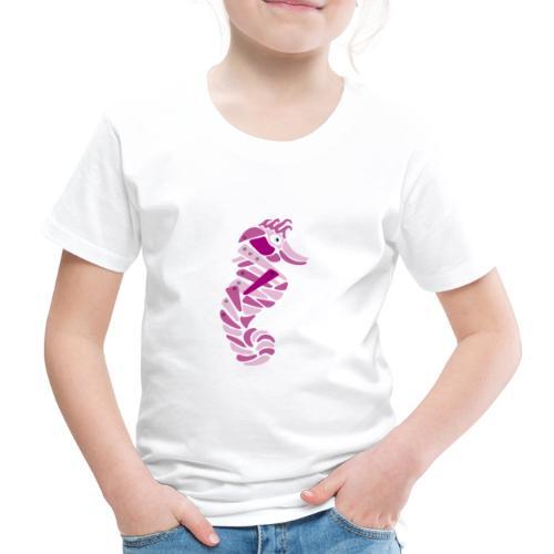 cavalluccio metallico rosa - Kids' Premium T-Shirt