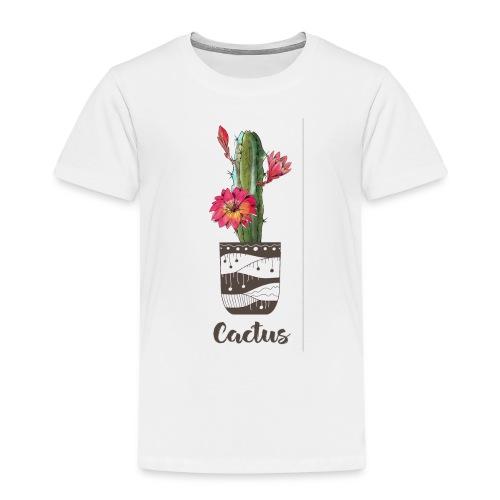 cactus diseño masetero - Camiseta premium niño
