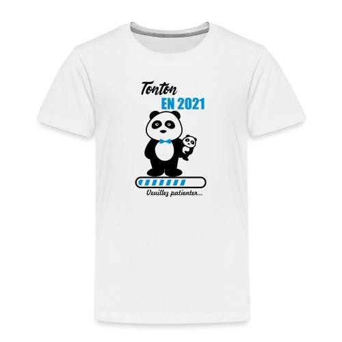 tonton en 2021,futur tonton,bientôt oncle - Kids' Premium T-Shirt