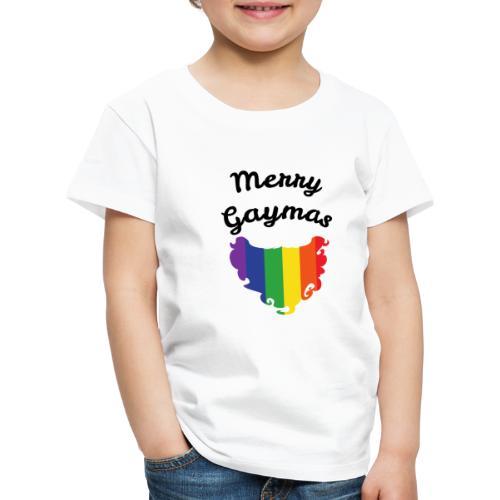 Merry Gaymas | Weihnachten | LGBT | Geschenkidee - Kinder Premium T-Shirt