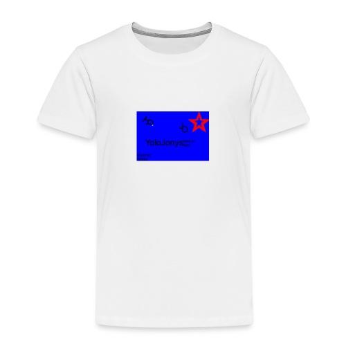 JoloJonys Logo - Premium T-skjorte for barn