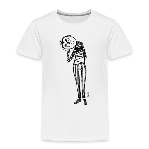 Point de vue en noir et blanc - Maglietta Premium per bambini