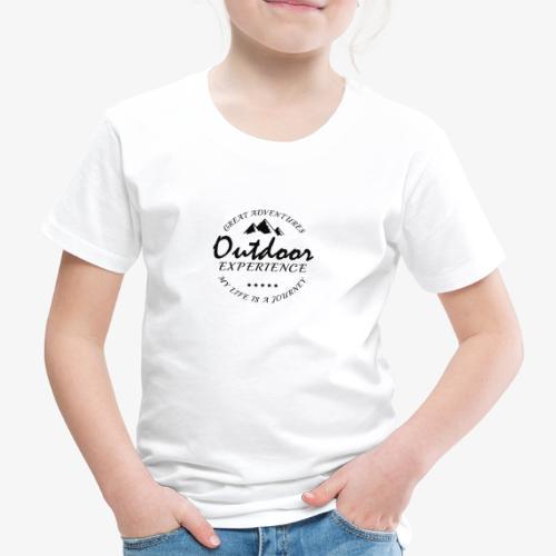 outdoor experience - Camiseta premium niño
