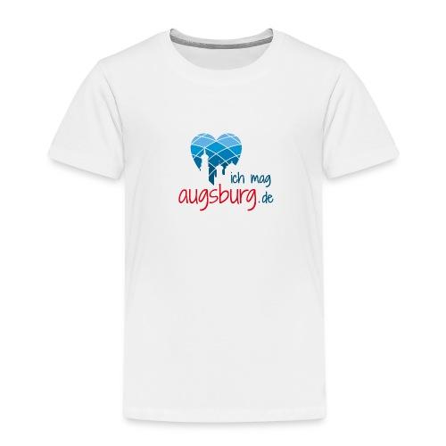 ichmagaugsburg logo - Kinder Premium T-Shirt