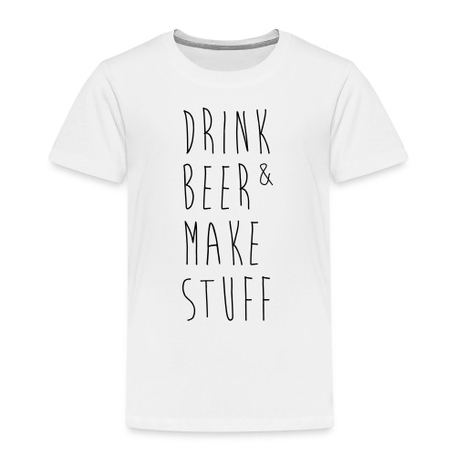 drink make - Kinder Premium T-Shirt