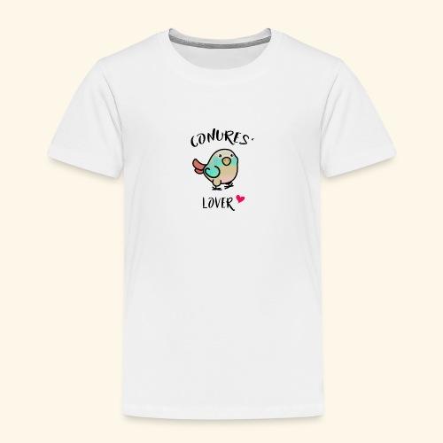Conures' Lover: blue cinamon - T-shirt Premium Enfant