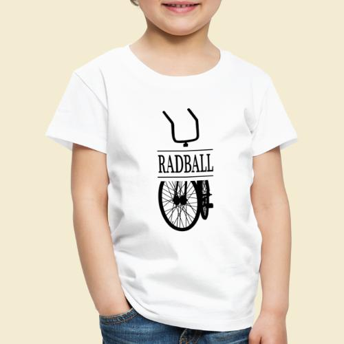 Radball   Retro Black - Kinder Premium T-Shirt