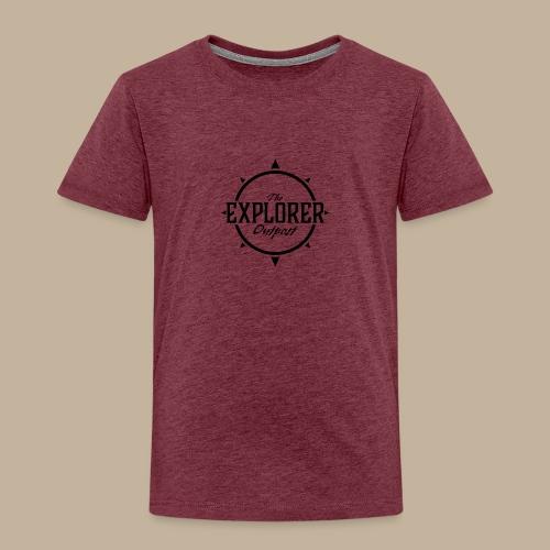 Black TEO Logo - Kids' Premium T-Shirt