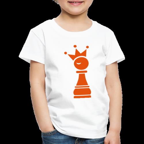 Winky Chess King - Kinderen Premium T-shirt