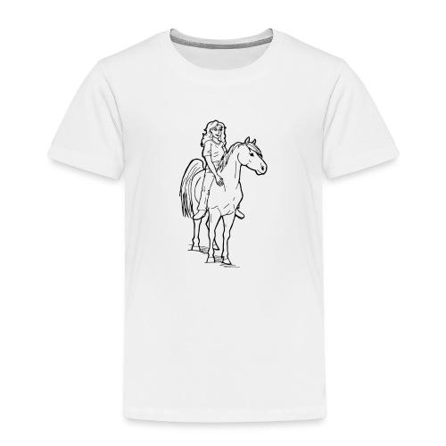 freie Reiterin - Kinder Premium T-Shirt