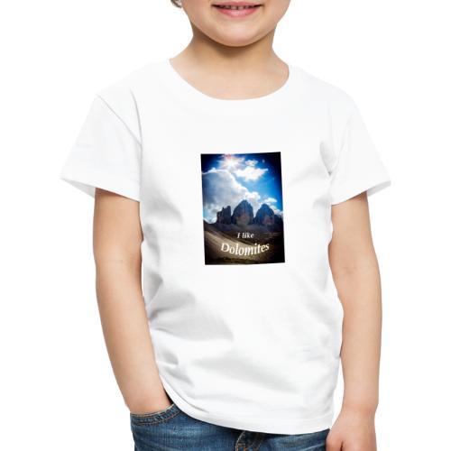 I like Dolomites Kopie - Kinder Premium T-Shirt