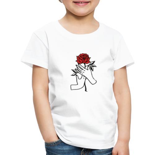 Fiore rosso - Maglietta Premium per bambini