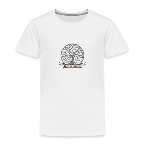 TOS grey tiny 3in png - Kids' Premium T-Shirt