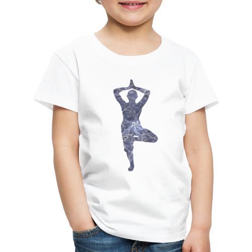 Yoga Baum Asana - Kinder Premium T-Shirt