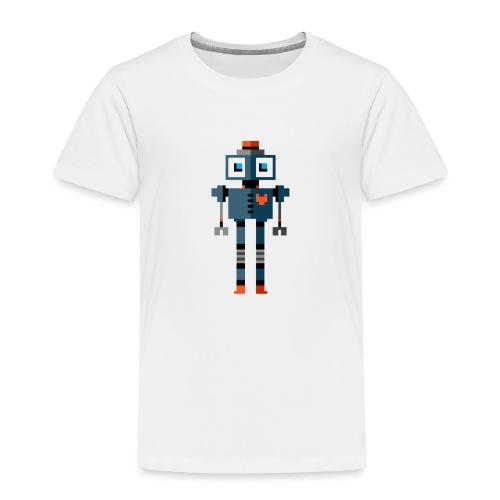 Blue Robot - Kids' Premium T-Shirt